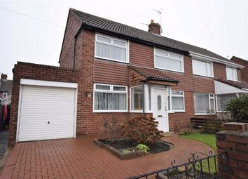 Thumbnail 3 bed semi-detached house for sale in Capulet Grove, South Shields