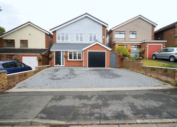 Thumbnail 4 bed detached house for sale in Hall Lane, Cronton, Widnes