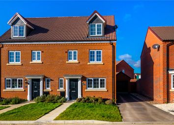 Thumbnail 4 bedroom semi-detached house for sale in Hyde Way, Holdingham, Sleaford, Lincolnshire