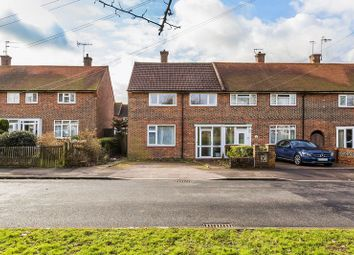 Thumbnail 3 bed end terrace house for sale in Worsted Green, Merstham, Redhill