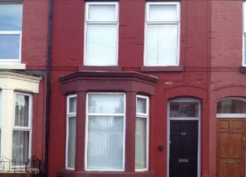 Thumbnail 4 bed terraced house to rent in Bagot Street, Liverpool, Merseyside