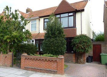 Thumbnail 3 bedroom property for sale in Lendorber Avenue, East Cosham, Portsmouth