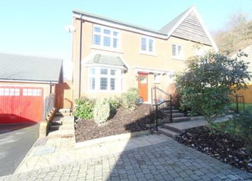 Thumbnail 3 bed semi-detached house for sale in Clos Pen Y Cae, Ebbw Vale