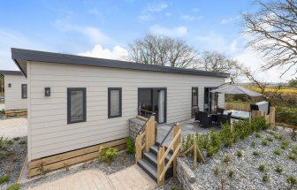 2 bed lodge for sale in Longstone Road, St Mabyn, Bodmin PL30