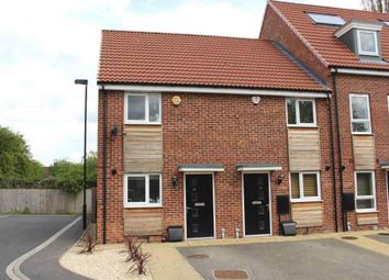 Thumbnail 2 bed end terrace house for sale in Waterside Gardens, York