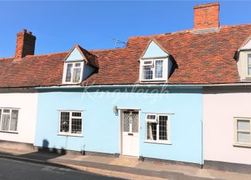 Thumbnail 2 bed terraced house for sale in Polstead Street, Stoke By Nayland, Colchester, Suffolk
