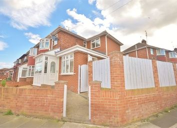 Thumbnail 4 bedroom semi-detached house for sale in Staveley Road, Seaburn Dene, Seaburn, Tyne And Wear.