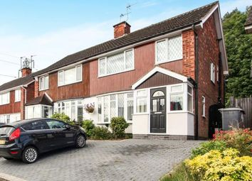 Thumbnail 3 bed semi-detached house for sale in Norton Road, Coleshill, Birmingham, Warwickshire