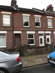 Thumbnail 3 bed terraced house to rent in Malvern Road, Luton