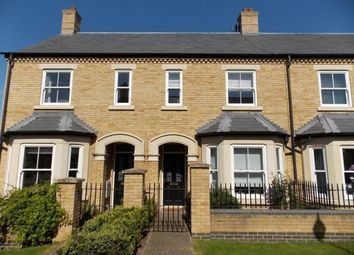 Thumbnail 2 bedroom terraced house to rent in Cavell Walk, Fairfield Park, Stotfold