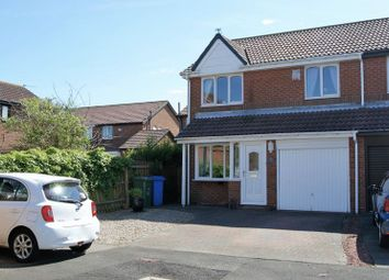 Thumbnail 3 bed semi-detached house for sale in Linden Road, Seaton Delaval, Whitley Bay