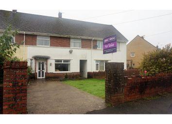Thumbnail 3 bed terraced house for sale in Heol Bryncwils, Bridgend