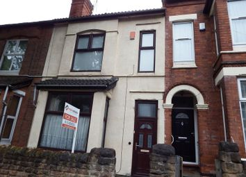 Thumbnail 3 bedroom terraced house for sale in Derby Grove, Nottingham