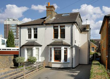 Thumbnail 4 bed semi-detached house for sale in South Lane, Kingston Upon Thames