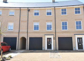 Thumbnail 3 bed town house for sale in Bibbys Way, Framlingham, Woodbridge