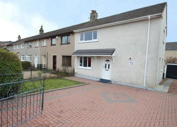 Thumbnail 3 bed end terrace house for sale in Oliphant Crescent, Paisley, Renfrewshire