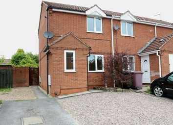 Thumbnail 2 bed town house for sale in Rosewood Close, South Normanton, Alfreton