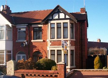 Thumbnail 3 bedroom semi-detached house to rent in Bingley Avenue, Blackpool, Lancashire