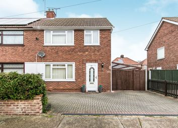 Thumbnail 3 bed semi-detached house for sale in Hillary Close, Ipswich