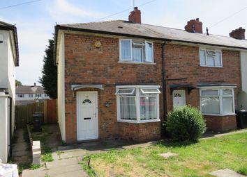 Thumbnail 2 bedroom end terrace house for sale in Denville Crescent, Bordesley Green, Birmingham