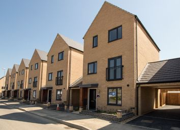 Thumbnail 3 bed detached house to rent in Pathfinder Way, Northstowe, Cambridge
