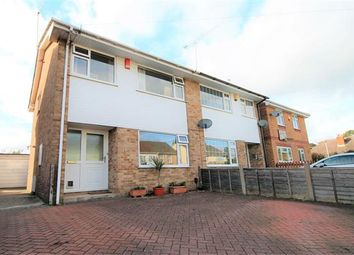 Thumbnail 3 bed semi-detached house for sale in Ebor Road, Parkstone, Poole