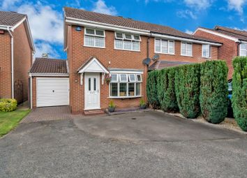 Thumbnail 3 bed semi-detached house for sale in Gatcombe Close, Wolverhampton