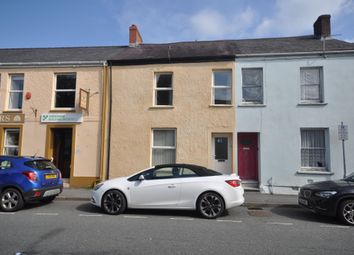 Thumbnail 3 bed terraced house to rent in St. Davids Place, Lammas Street, Carmarthen