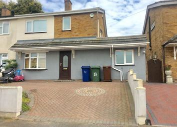 Thumbnail 3 bedroom semi-detached house to rent in Hillside Close, Hednesford, Cannock