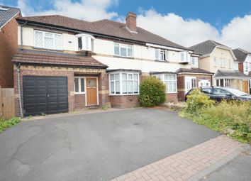 Thumbnail 4 bed semi-detached house for sale in Hazeloak Road, Shirley, Solihull