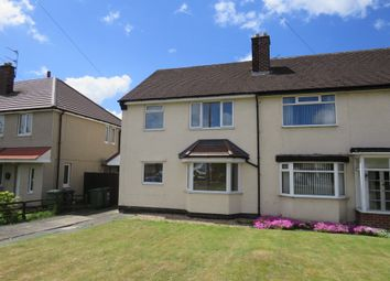 Thumbnail 3 bedroom semi-detached house for sale in Castleway North, Moreton, Wirral