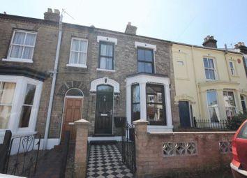 Thumbnail 3 bedroom terraced house for sale in Sandringham Road, Norwich