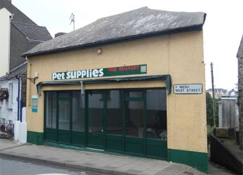 Thumbnail Detached house for sale in Retail Premises (Formerly Pet Supplies), West Street, Fishguard, Pembrokeshire