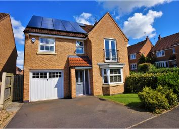 Thumbnail 4 bed detached house for sale in Mercer Drive, Lincoln