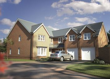 Thumbnail 5 bed detached house for sale in Woodlands Drive, Goostrey, Cheshire