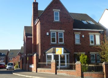 Thumbnail 4 bedroom semi-detached house for sale in Yeoman Road, Earl Shilton, Leicester
