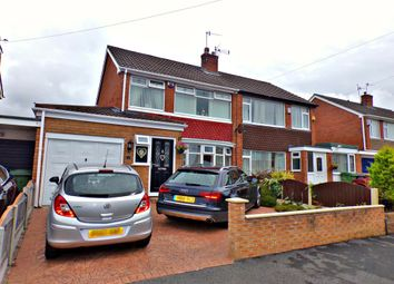 Thumbnail 3 bed semi-detached house for sale in Waverton Avenue, Prenton