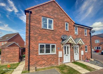 Thumbnail 3 bed semi-detached house to rent in Grebe Mews, Scunthorpe