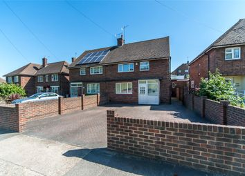 Thumbnail 3 bed semi-detached house for sale in Valley Drive, Gravesend, Kent