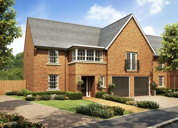 "Thumbnail 5 bed detached house for sale in ""Hatherley"" at Tamora Close, Heathcote, Warwick"