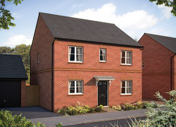 "Thumbnail 4 bed detached house for sale in ""The Buxton"" at Larbourne Park Road, Flore, Northampton"