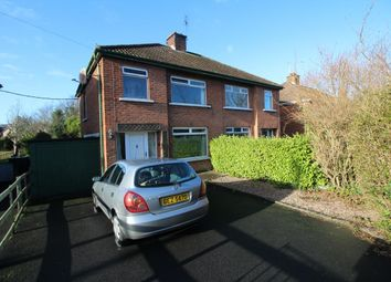 Thumbnail 3 bedroom semi-detached house for sale in Westburn Crescent, Bangor