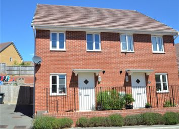 Thumbnail 2 bed semi-detached house for sale in Portland Close, Cullompton, Devon