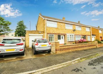 Thumbnail 3 bed semi-detached house for sale in Parkstone Grove, Hartlepool, Durham