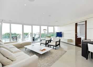 Thumbnail 3 bed flat to rent in Centurion Building, Chelsea Bridge Wharf, Queenstown Road, London