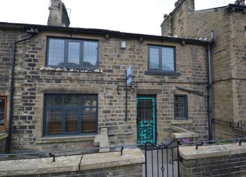 Thumbnail 2 bed terraced house to rent in Woodhead Road, Holmfirth