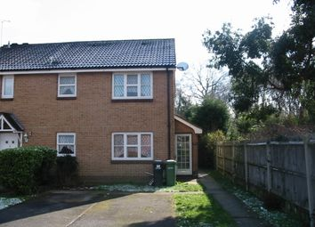 Thumbnail 1 bed semi-detached house to rent in Duddon Close, West End, Southampton