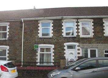 Thumbnail 3 bed terraced house for sale in Newport Road, Cwmcarn, Crosskeys, Newport.