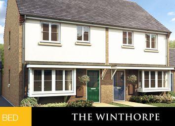 Thumbnail 3 bed semi-detached house for sale in Deepdale Lane, Nettleham