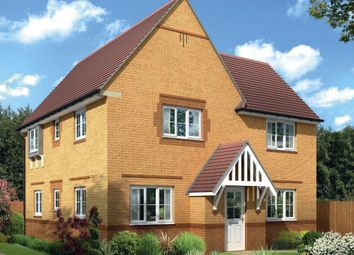 "Thumbnail 4 bed detached house for sale in ""Lincoln"" at Tregwilym Road, Rogerstone, Newport"